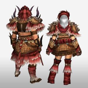 FrontierGen-Gogo Armor (Blademaster) (Back) Render