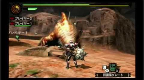 Monster Hunter 4G - Zamtrios Subspecies - Hammer Demo Gameplay
