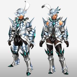 FrontierGen-Akura U Armor 002 (Blademaster) (Front) Render