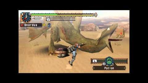 Let's Play Monster Hunter Freedom Unite Part 24 Cephadrome Training