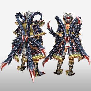FrontierGen-Faruko Armor (Both) (Back) Render