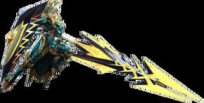 MH3G-Dengeki Gunlance