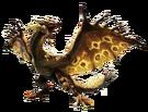 MH4-Gold Rathian Render 001