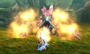Basarios sub fire fumes