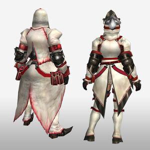 FrontierGen-Furufuru G Armor (Blademaster) (Back) Render