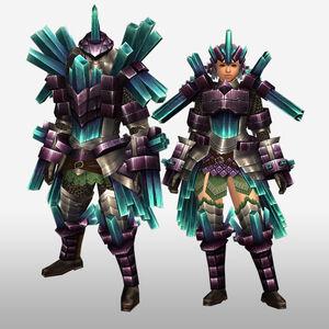 FrontierGen-Kuaru Armor (Blademaster) (Front) Render