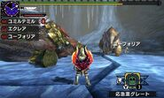 MHGen-Gammoth and Snowbaron Lagombi Screenshot 001
