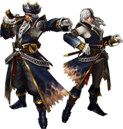 FrontierGen-Pirata Armor (Both) Render 2