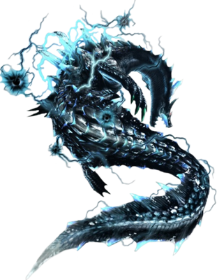 Lagiacrus Rare Species Render