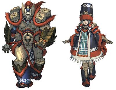 MHX-Gamuto Armor Concept Art