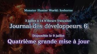 Monster Hunter World Iceborne - Teaser journal des développeurs 6