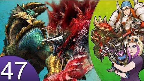 Monster Hunter 4 Nubcakes 47 - FERAL Zinogre & Stygian Zinogre ARENA English commentary