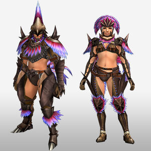 FrontierGen-Hypno U Armor (Blademaster) (Front) Render