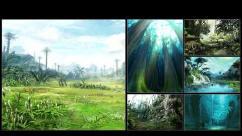 MHX Soundtrack Preview - Ancient Forest BGM Extended
