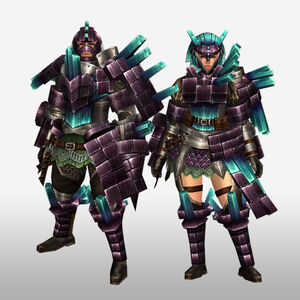 FrontierGen-Kuaru Armor (Gunner) (Front) Render