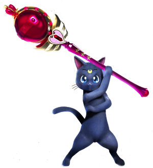 MHXX-Sailor Moon Palico Armor Render 001