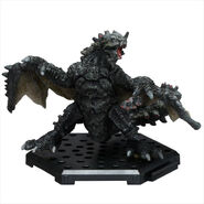 Capcom Figure Builder-Black Gravios Figure 001