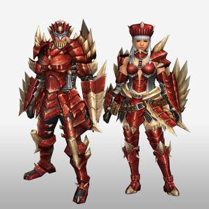 FrontierGen-Odiba Armor (Gunner) (Front) Render