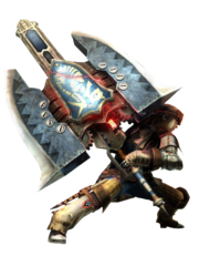 MH4-Charge Axe Equipment Render 001