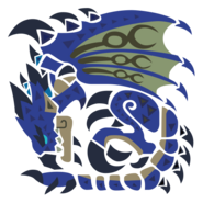 MHWI-Azure Rathalos Icon