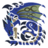 MHWI-Azure Rathalos Icon
