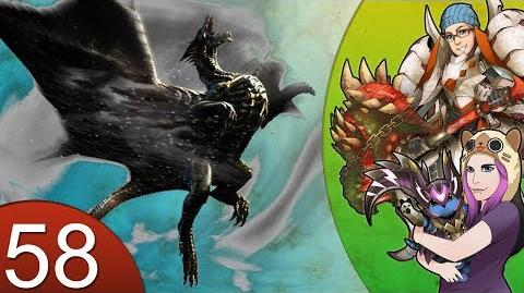 Monster Hunter 4 Nubcakes 58 - Kushala Daora Event Quest English commentary online gameplay
