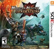 MHGen Coverart 3DS