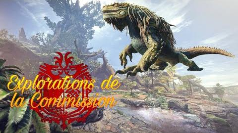 Explorations de la Commission, Rapport 1 Grand Jagras, le wyverne goinfre.