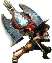 Charge Axe Render