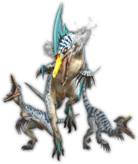 MHFU-Giadrome and Giaprey Render 001
