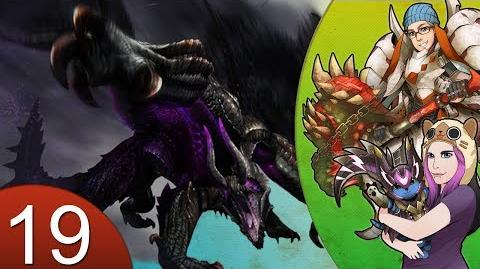 Monster Hunter 4 Nubcakes 19 - Gore Magala HR2 URGENT English commentary online gameplay