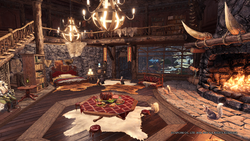 MHWI-Seliana (Hunter's Room) Screenshot 3