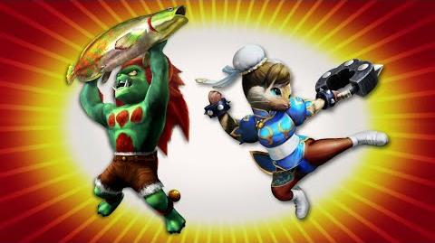 Monster Hunter 4 Ultimate - Street Fighter II collaboration (PEGI)