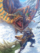 Tigrex VS Hunter