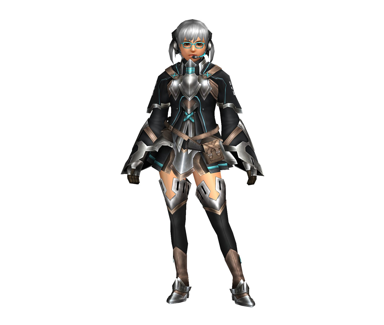 FrontierGen-Bande Armor (Female) (Both) (Front) Render 004