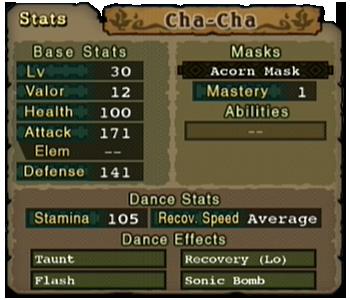 ChaCha-Menu