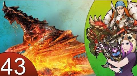 Monster Hunter 4 Nubcakes 43 - Black Gravios HR5 URGENT English commentary online gameplay