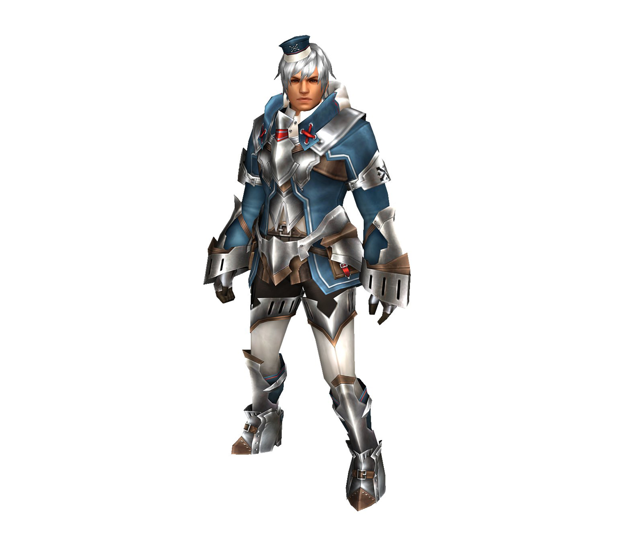 FrontierGen-Bande Armor (Male) (Both) (Front) Render 001