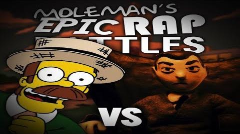 Moleman's Epic Rap Battles 10 Ned Flanders Vs