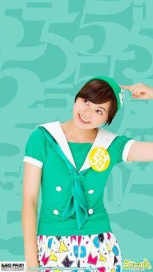Ayaka in Green