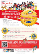 3B Junior LIVE 2012 Flyer 2