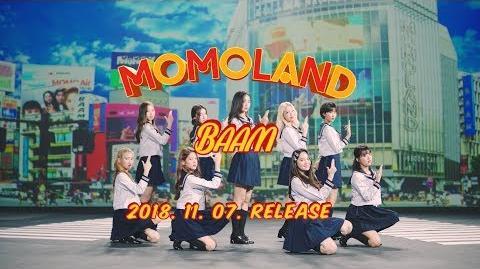 MOMOLAND「BAAM -Japanese ver