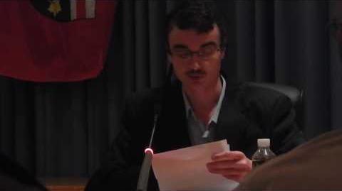 Discours du candidat indépendant Marc-Antoine Gagnier au débat