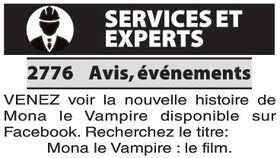 Mona le Vampire - Petites annonces