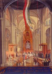 Coronación de Agustin de Iturbide