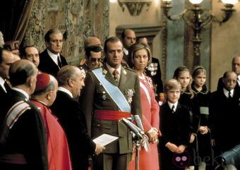 Proclamacion Del Rey Juan Carlos I