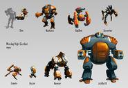 MNC robots