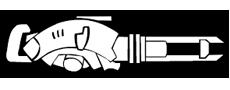 Laser Railgun symbol transparent