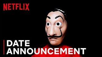 Money Heist 4 Date Announcement Netflix