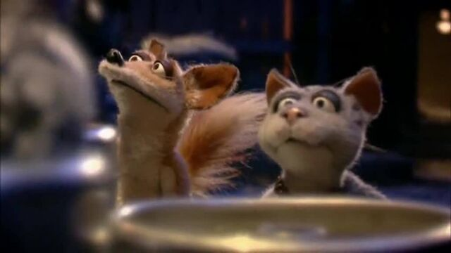 File:Marion (right), as he appears in the pilot episode, 'We Are Mongrels'..jpg